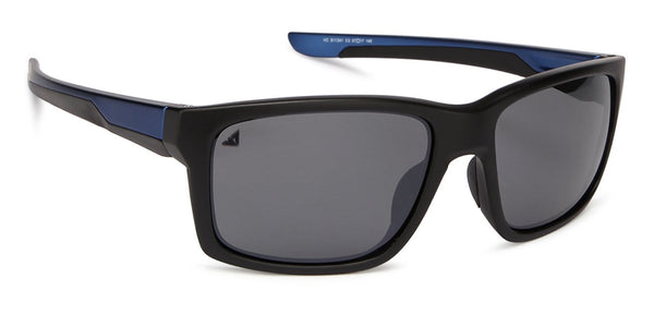 VC Matte Black Sports Sunglasses - 128443