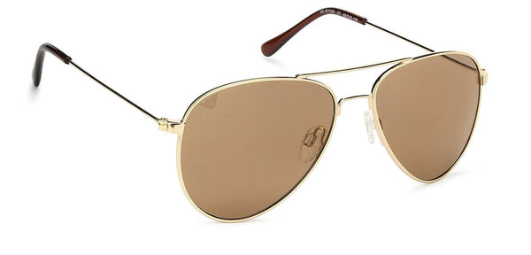 Vincent Chase Golden Sunglasses 128726