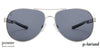 Vincent Chase Polarized Power Silver Sunglasses 130097