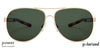 Vincent Chase Polarized Golden Sunglasses 130098