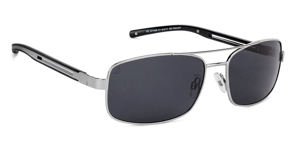 Vincent Chase Polarized Silver Sunglasses 130101