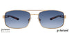 Vincent Chase Polarized Golden Sunglasses 130104