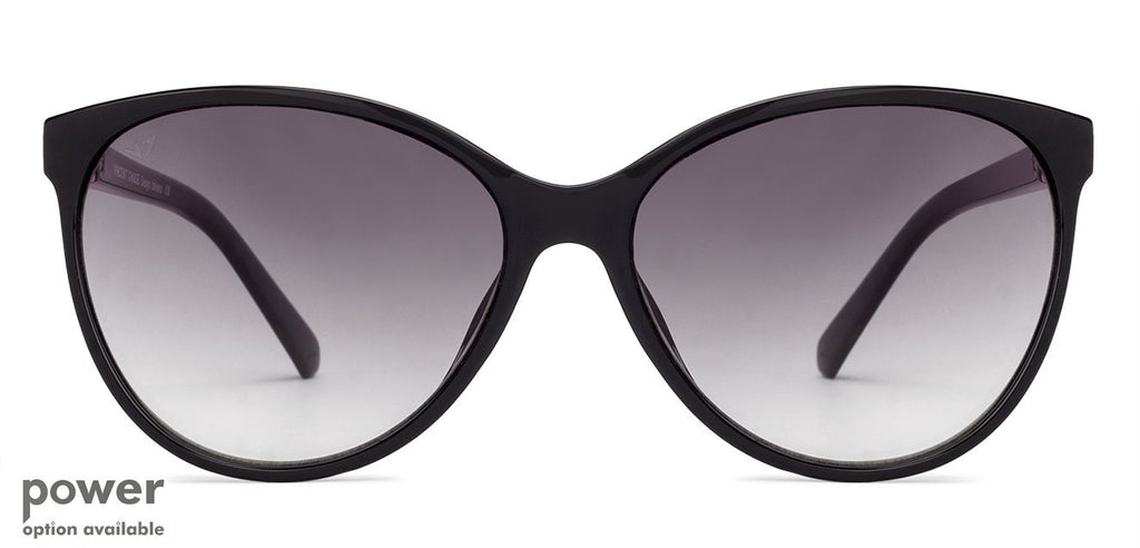 Cat Eye Sunglasses-Cat Eye-Black-SG