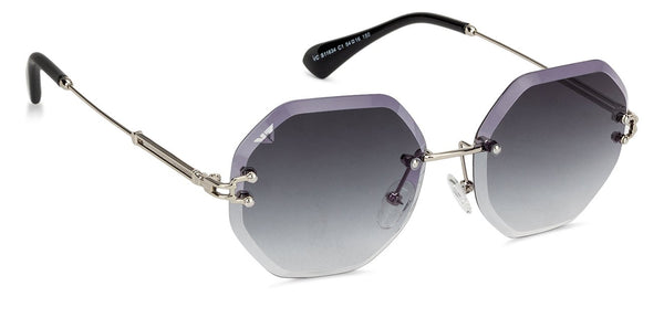 VC Gunmetal Hexagonal Sunglasses - 130866