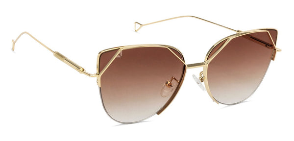 Vincent Chase Golden Sunglasses 130871