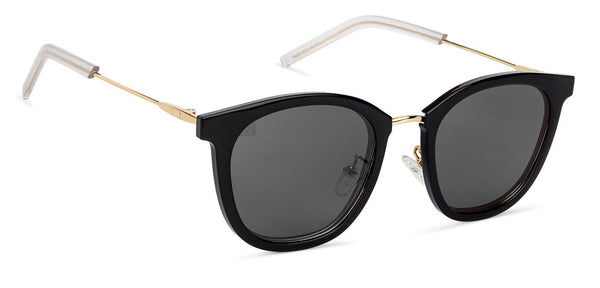 VC Golden Black Wayfarer Sunglasses - 130881
