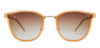 Vincent Chase Golden Sunglasses 130882