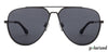 Vincent Chase Polarized Gunmetal Sunglasses 131396