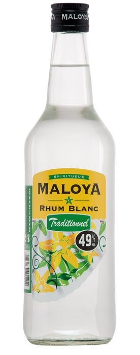 Rhum Blanc Traditionnel Maloya Isautier 70cl - Pack de 6