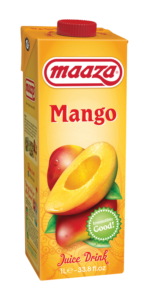 Jus de fruit Mangue Maaza 1l - Pack de 12