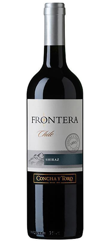 Vin Frontera Shiraz Rouge 75cl - Pack de 6