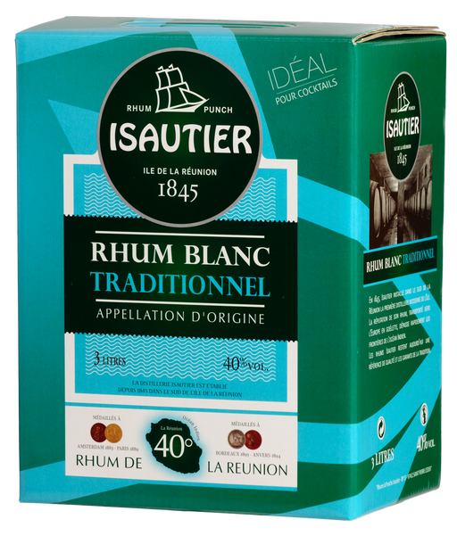 Rhum Blanc Traditionnel Isautier 300cl