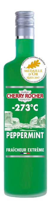 Liqueur Peppermint Cherry Rocher 70cl - Pack de 6