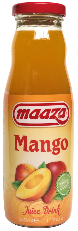 Jus de fruit Mangue Maaza 33cl - Pack de 24