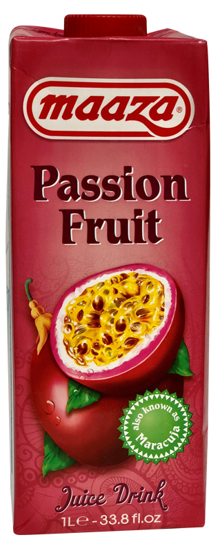 Jus de fruit Passion Maaza 1l - Pack de 12