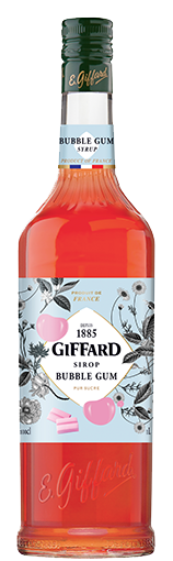 Sirop de Bubble Gum Giffard 100cl - Pack de 6