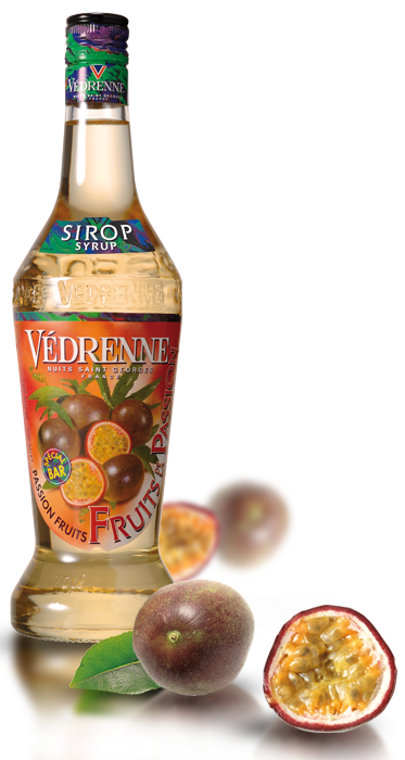 Sirop Fruit de la Passion Vedrenne 70cl - Pack de 6