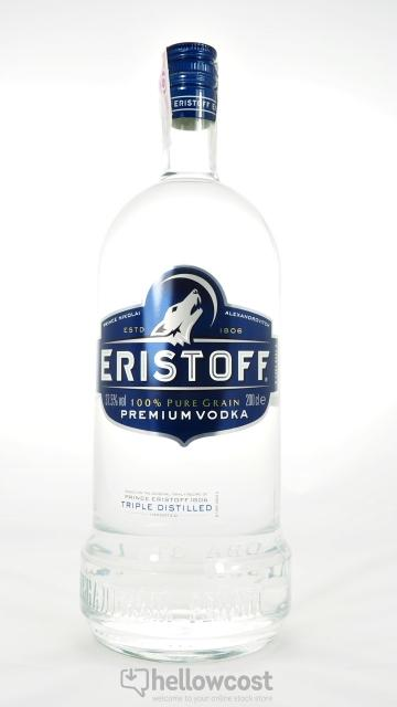 Vodka Brut Eristoff 150cl - Pack de 6