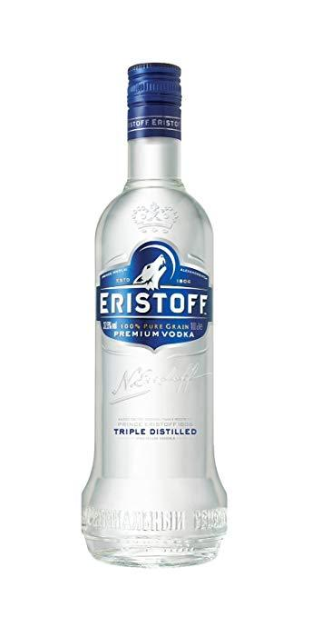 Vodka Brut Eristoff 70cl - Pack de 6