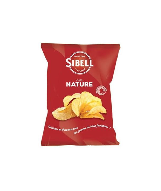 Chips Nature Sibell 100g - Pack de 24