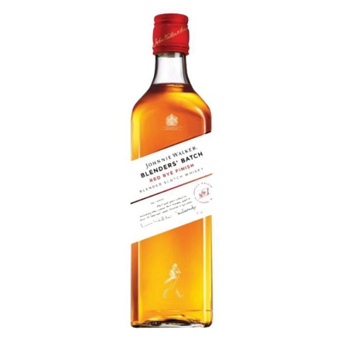 Johnnie Walker Red Rye 70cl  - Pack de 6