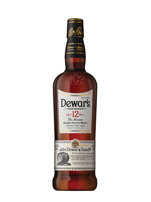 Whisky Dewar's 12 Ans 70cl - Pack de 6