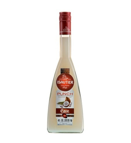 Punch Coco Maloya Isautier 70cl - Pack de 6