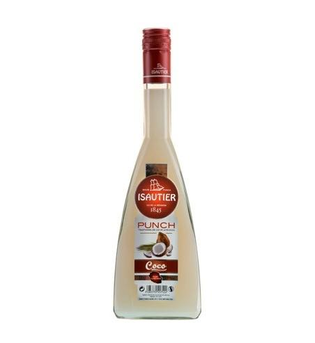 Punch Coco Blanc Isautier 70cl - Pack de 6