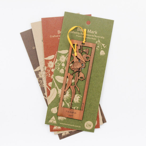 Bookmark Gum Leaves