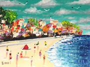 Painting. Bondi Beach