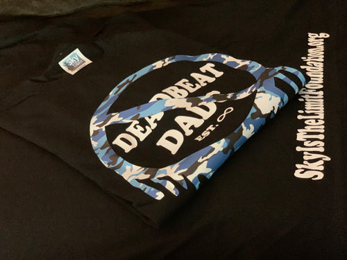 No Deadbeat Dads (Blue Camo)