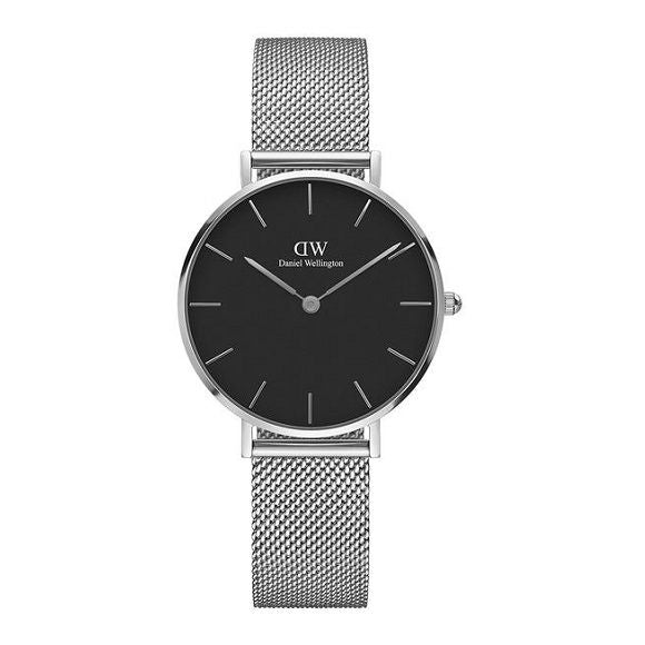 DANIEL WELLINGTON CLASSIC PETITE STERLING BLACK DW00100162