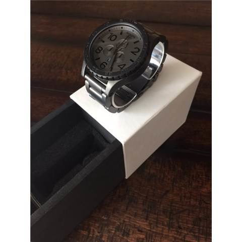 NIXON 51-30 CHRONO 51 MM 51-30 Matte Black / Matte Gunmetal