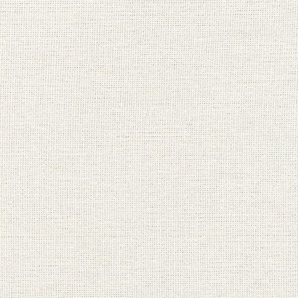 Essex Metallic Linen -  Vintage White by Robert Kaufman