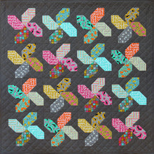 Load image into Gallery viewer, Whirligig Quilt Paper Pattern by Emma Jean Jansen