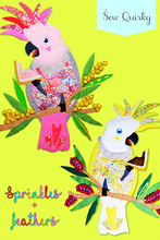 Load image into Gallery viewer, Sew Quirky - Sprinkles & Feathers Paper Pattern