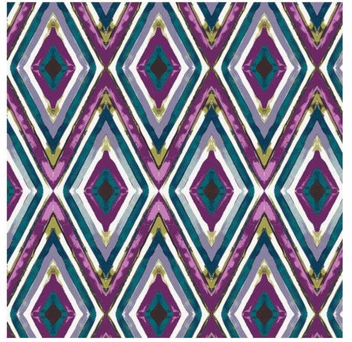 Art Gallery Fabric - Virtuosa - by Bari J - Theatre Resonance Plum