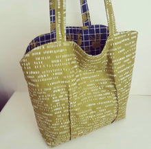Load image into Gallery viewer, Learn to make the Jillian Reversible Tote Sunday 22 November, 1pm to 3.30pm