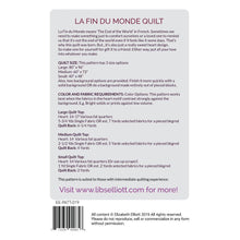 Load image into Gallery viewer, Paper Pieces - Acrylic templates - Medium sized  - La Fin du Monde Quilt