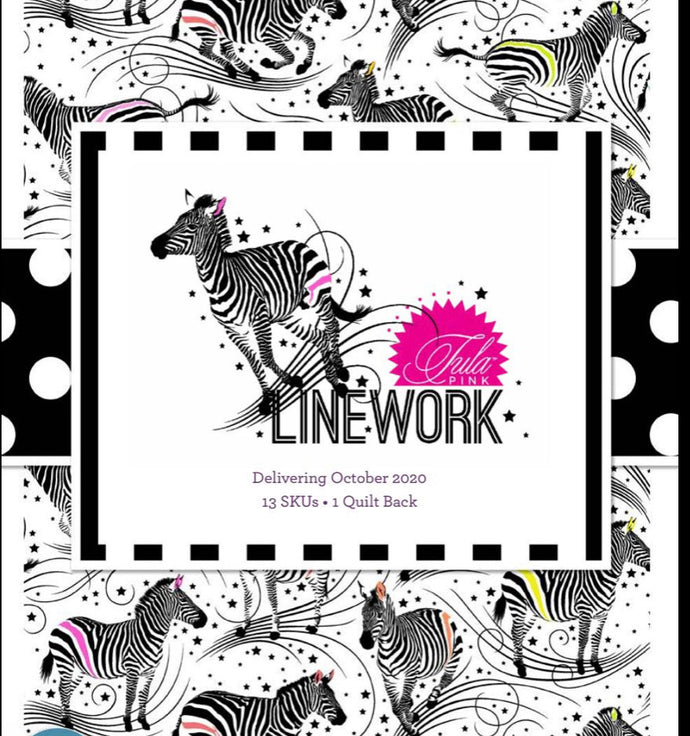 Linework by Tula Pink 13 x fat quarters