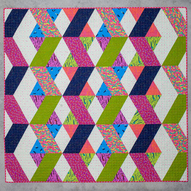 Tied With a Ribbon - Labyrinth Quilt Paper Pattern