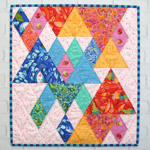 End Game Quilt paper Pattern by Tied With a Ribbon