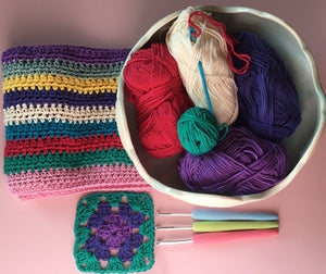 Beginners Crochet Class #1 - Saturday 14th November, 2020 - 10am to 12.30pm