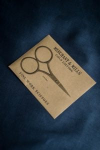 Merchant and Mill - Fine Work Scissors - Gold