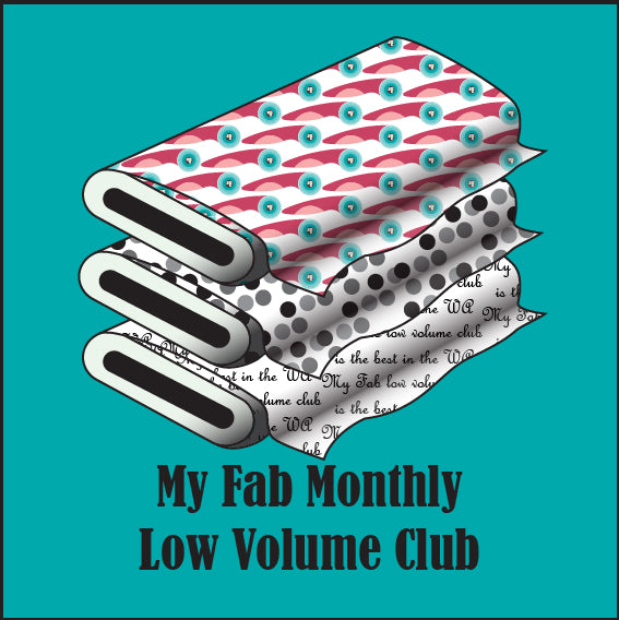 My Fab Monthly Low Volume Club - 30th of the month