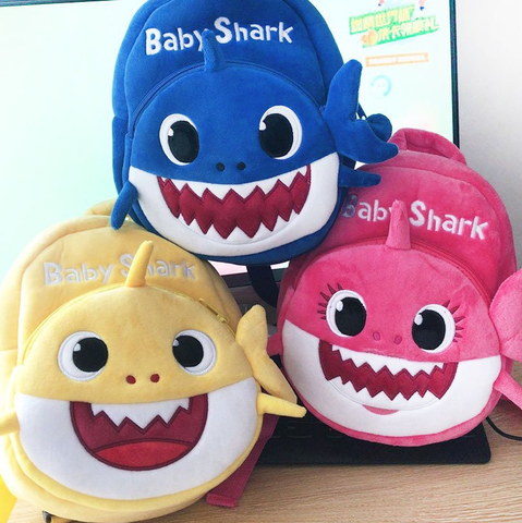 Baby Shark Backpack Cartoon Animal for toddler