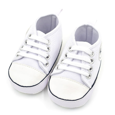 Newborn Baby Shoes Infant Cotton Fabric First Walkers Soft Sole Shoes Girl Boys Footwear SL07