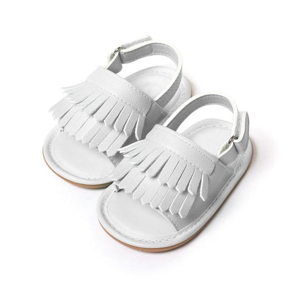 Baby Sandals Summer Leisure Fashion Baby Girls Sandals of Children PU Tassel Shoes 7Colors