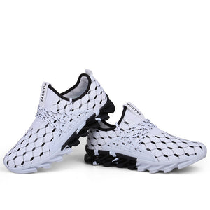 Men's and Women's running shoes Non-slip network