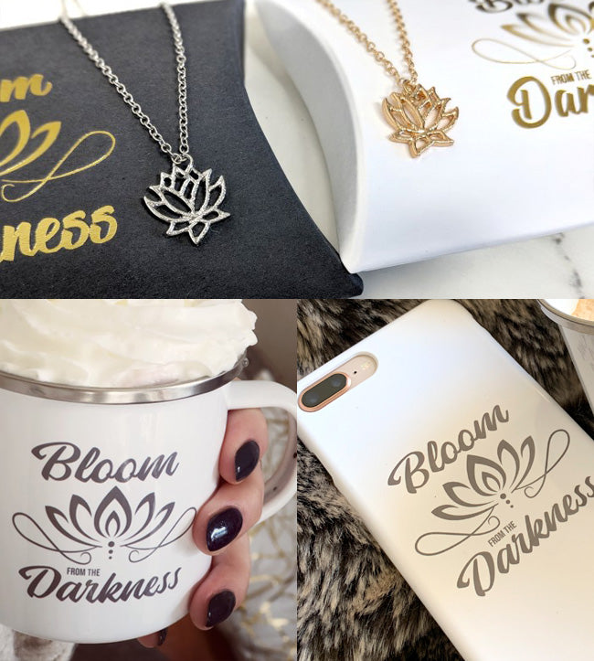 Jewellery, Phone Cases & Mugs